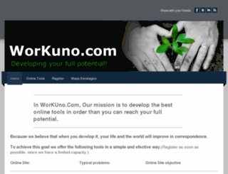 workuno.com screenshot