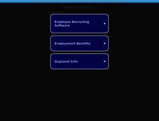 workwise.org.uk screenshot