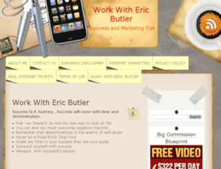 workwithericbutler.com screenshot