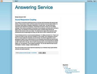 world-answering-service.blogspot.com screenshot