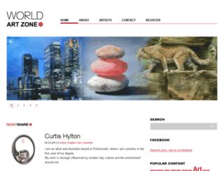 world-art-zone.com screenshot