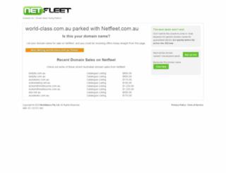 world-class.com.au screenshot