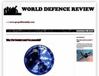 world-defece-review.blogspot.in screenshot
