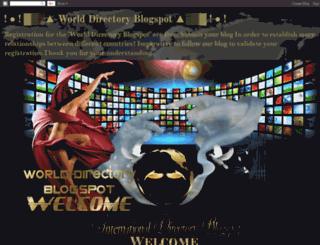 world-directory-sweetmelody.blogspot.fr screenshot