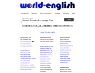 world-english.org screenshot