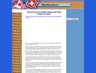 world-free-printable-flags.com screenshot