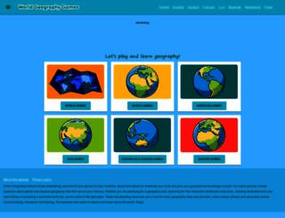 world-geography-games.com screenshot