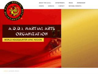 world-martial-arts.org screenshot