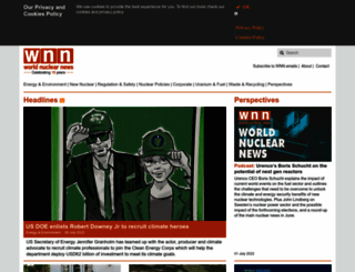 world-nuclear-news.org screenshot