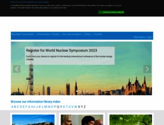world-nuclear.org screenshot