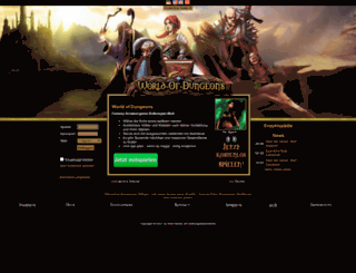 world-of-dungeons.de screenshot