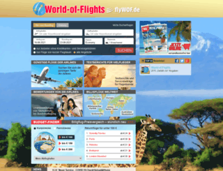 world-of-flights.de screenshot