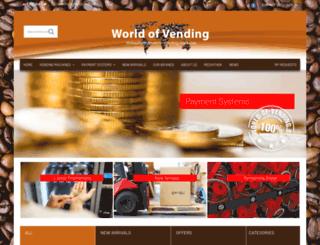 world-of-vending.de screenshot