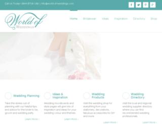 world-of-weddings.com screenshot