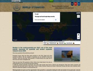 world-pyramids.com screenshot