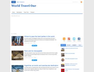world-travel-one.blogspot.com screenshot