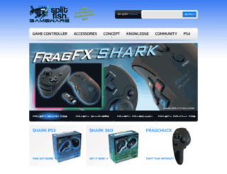 world.splitfish.com screenshot