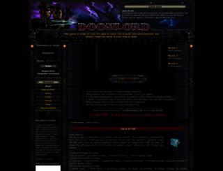 world2.doomlord.net screenshot