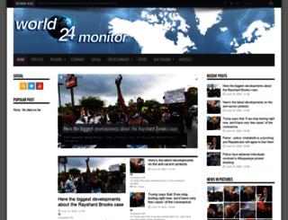 world24monitor.com screenshot