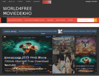 world4freemoviedekho.blogspot.com screenshot