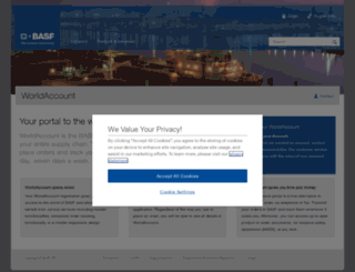 worldaccount.basf.com screenshot