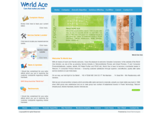 worldace.in screenshot
