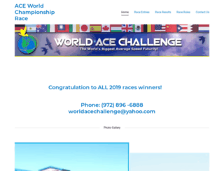 worldacechallenge.com screenshot