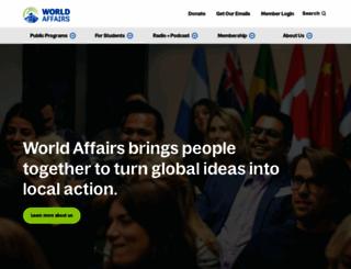 worldaffairs.org screenshot