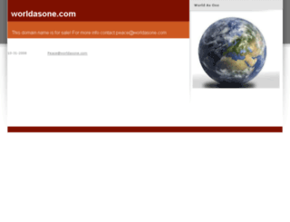 worldasone.com screenshot