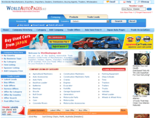 worldautopages.biz screenshot