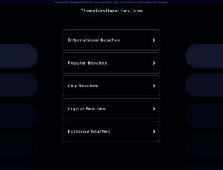 worldbeaches.threebestbeaches.com screenshot