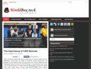 worldbox-tech.com screenshot