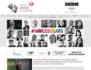 worldbrandcongress.com screenshot