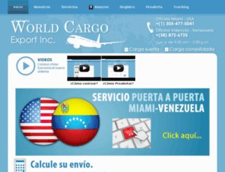 worldcargoexport.com screenshot