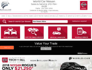worldcarnissan.net screenshot