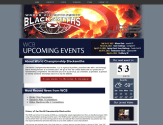worldchampionshipblacksmiths.com screenshot