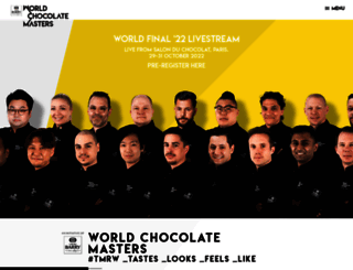 worldchocolatemasters.com screenshot
