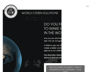 worldcitizen.solutions screenshot