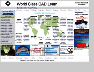 worldclasscad.com screenshot