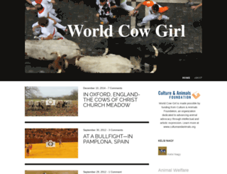 worldcowgirl.wordpress.com screenshot