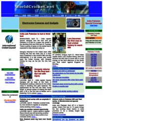 worldcricket.net screenshot