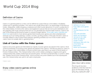 worldcup-blog.com screenshot