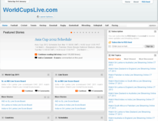 worldcupslive.com screenshot