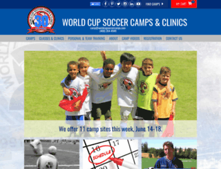 worldcupsoccercamps.com screenshot