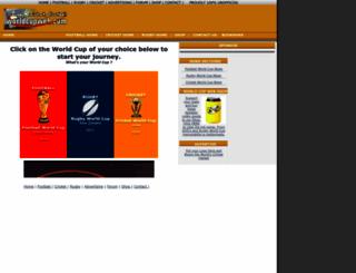 worldcupweb.com screenshot
