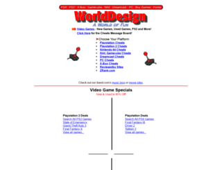 worlddesign.net screenshot