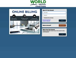 worldelectricsupply.billtrust.com screenshot