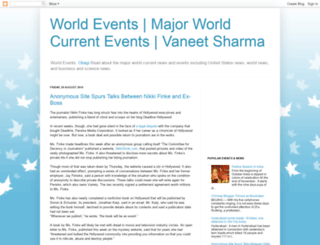 worldeventsinfo.blogspot.in screenshot