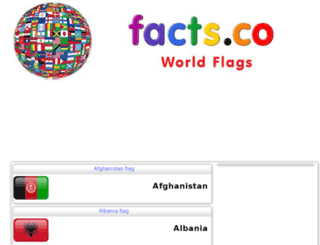 worldflags.facts.co screenshot