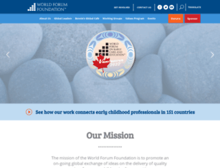 worldforumfoundation.org screenshot